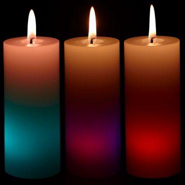 bougies-cylindre-led