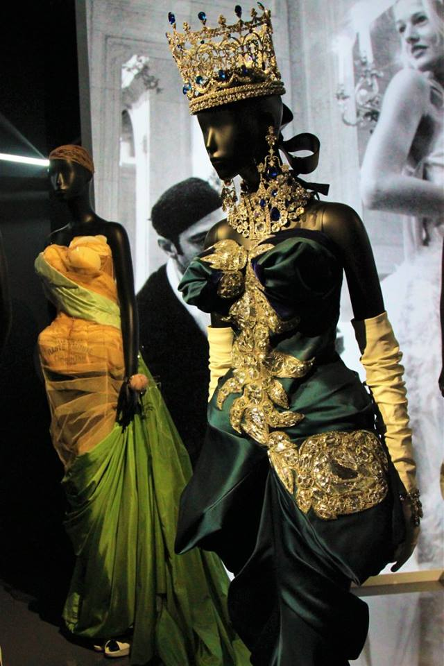 exposition christian dior billet